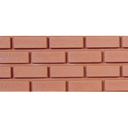 Brick, Common, Plastic with Corners