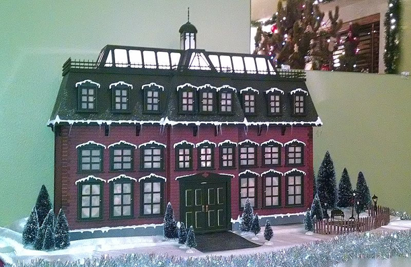 Ready to Assemble Mansion Advent House Kit